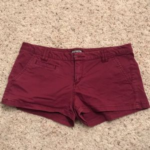 Express Thornberry Low Rise Twill Shorts